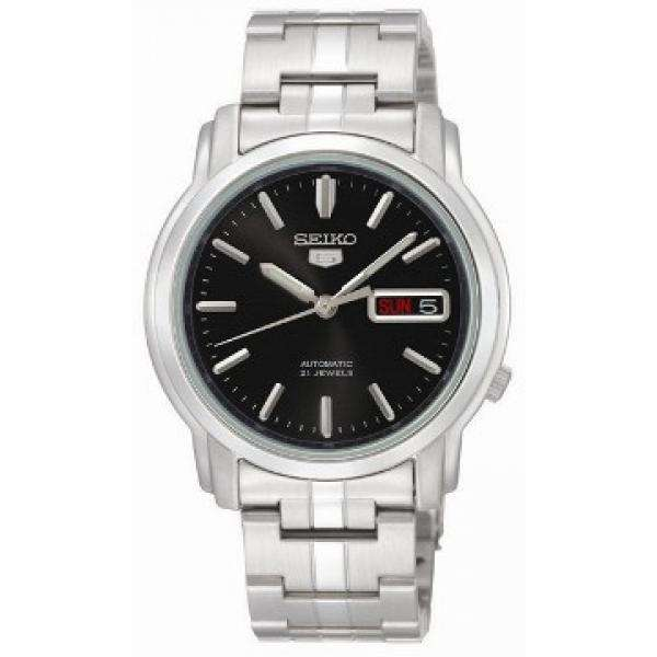 SEIKO SNKK71K1 Automatic Silver Stainless Steel Watch for Men-