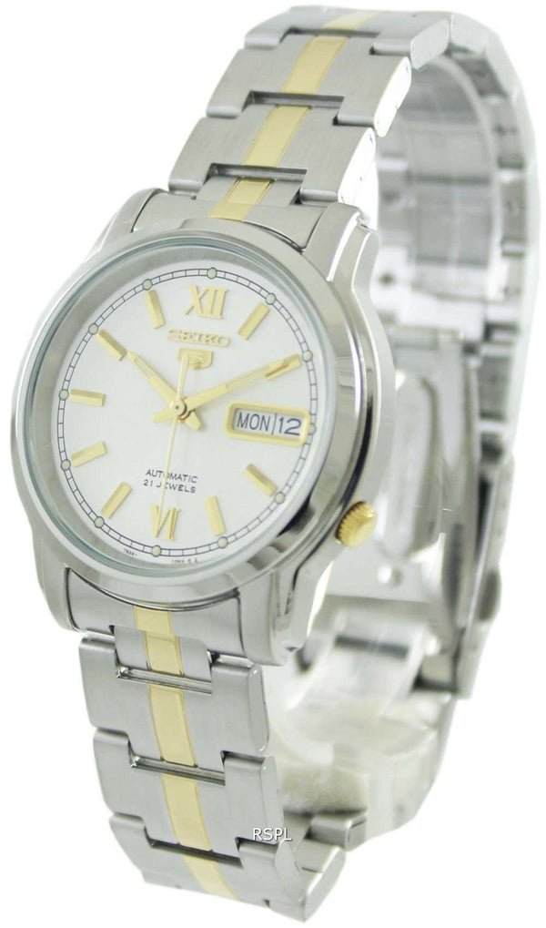 SEIKO SNKK83K1 Automatic Two-tone Stainless Steel Watch for Men