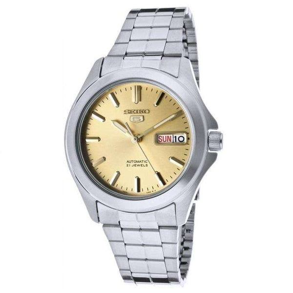 SEIKO SNKK91K1 Automatic Silver Stainless Steel Watch for Men