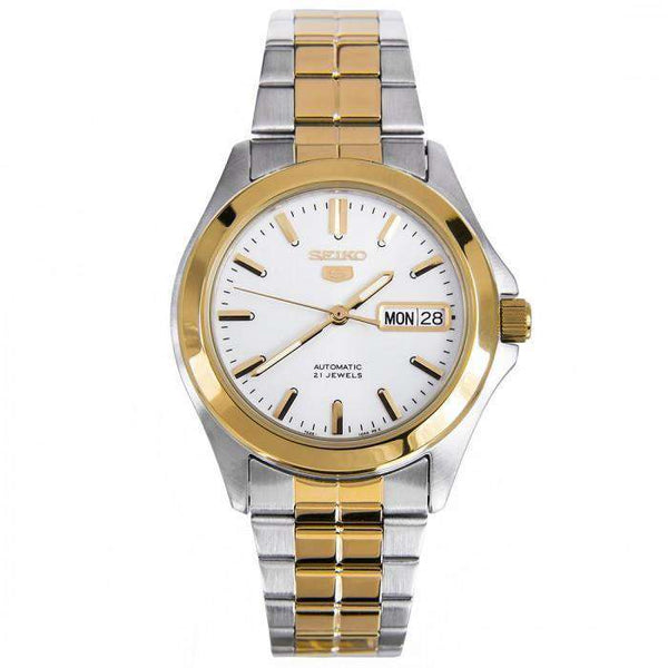 SEIKO SNKK94K1 Automatic Two-Tone Watch for Men- - Watchportal Philippines