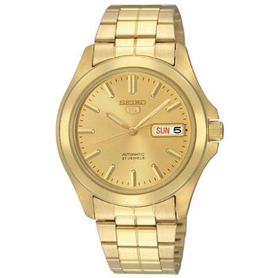 SEIKO SNKK98K1 Automatic Gold Stainless Steel Watch for Men