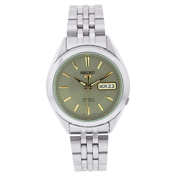 SEIKO SNKL19K1 Automatic Silver Stainless Steel Watch for Men