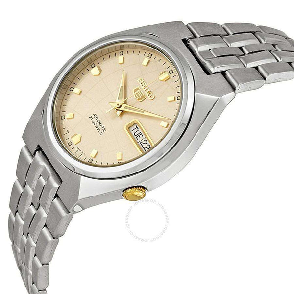 SEIKO SNKL21K1 Automatic Silver Stainless Steel Watch for Men