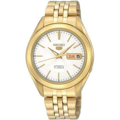 SEIKO SNKL26K1 Automatic Gold Plated Stainless Steel Watch for Men