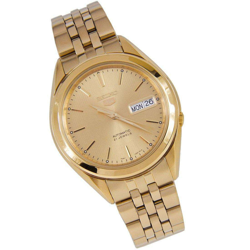 SEIKO SNKL28K1 Automatic Gold Plated Stainless Steel Watch for Men-