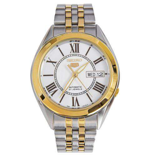 SEIKO SNKL36K1 Automatic Two-tone Stainless Steel Watch for Men