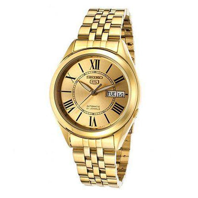 SEIKO SNKL38K1 Automatic Gold Stainless Steel Watch for Men