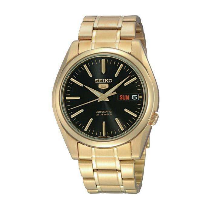 SEIKO SNKL50K1 Automatic Gold Plated Stainless Steel Watch for Men- - Watchportal Philippines