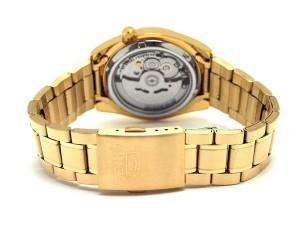 SEIKO SNKL50K1 Automatic Gold Plated Stainless Steel Watch for Men-