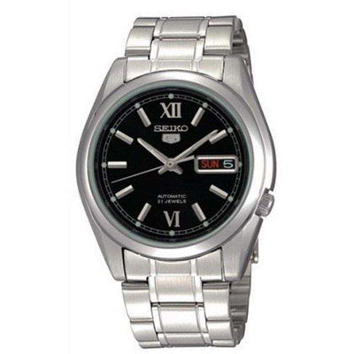 SEIKO SNKL55K1 Automatic Silver Stainless Steel Watch for Men-