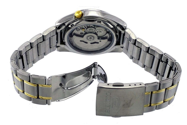 SEIKO SNKL57K1 Automatic Two-Tone Stainless Steel Watch for Men-