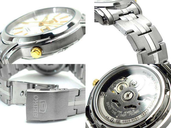SEIKO SNKL77K1 Automatic Silver Stainless Steel Watch for Men-