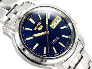 SEIKO SNKL79K1 Automatic Silver Stainless Steel Watch for Men