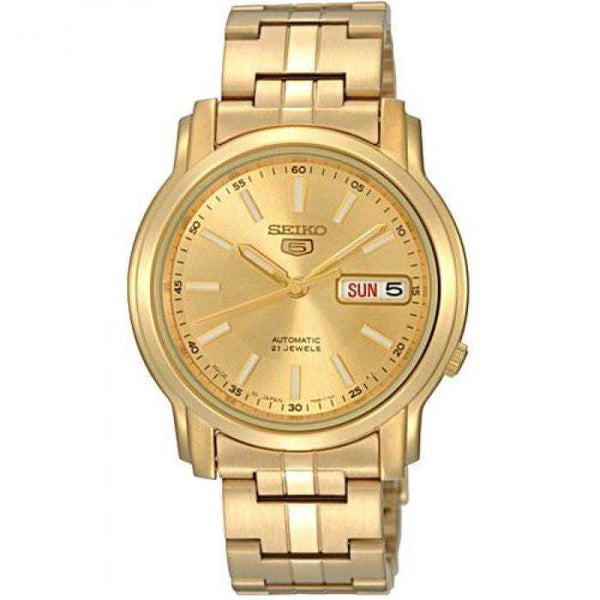 SEIKO SNKL86K1 Automatic Gold Stainless Steel Watch for Men