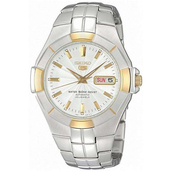 SEIKO SNZE30K1 Automatic Silver Stainless Watch for Men- - Watchportal Philippines