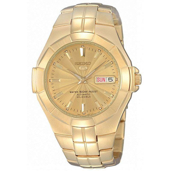 SEIKO SNZE32K1 Automatic Gold Plated Stainless Steel Watch for Men-