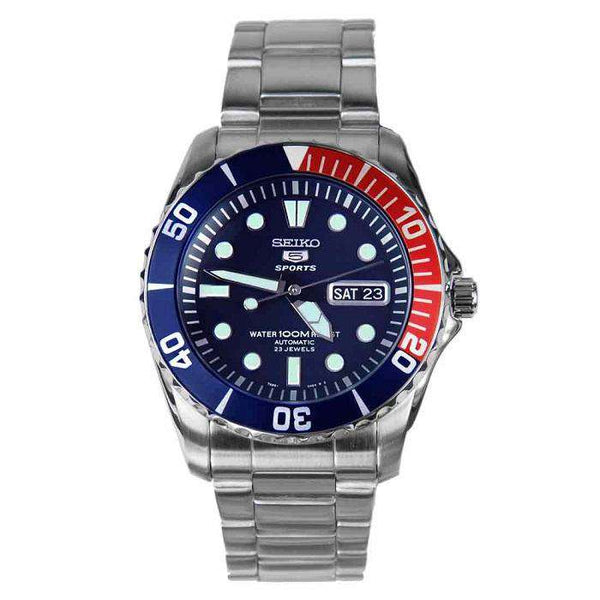 SEIKO SNZF15K1 Automatic Silver Stainless Steel Watch for Men-