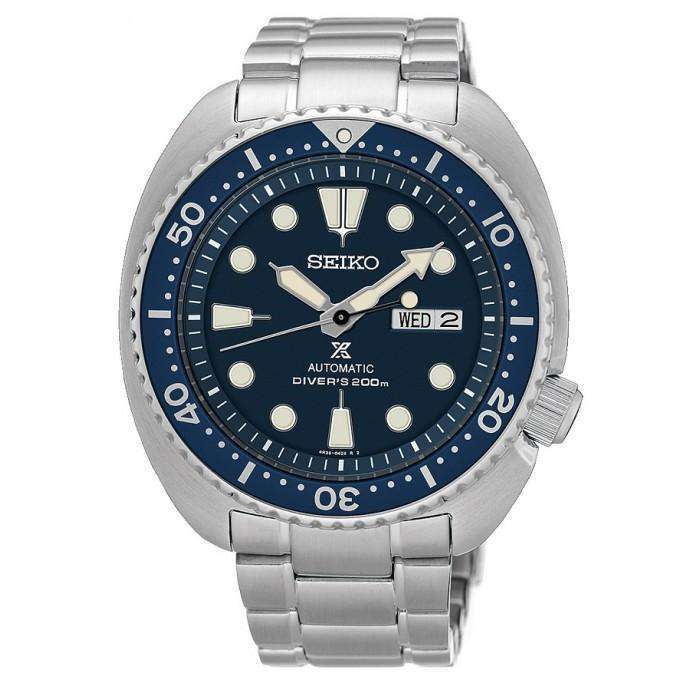 SEIKO SRP773K1 Automatic Turtle Silver Stainless Steel Watch for Men - Watchportal Philippines