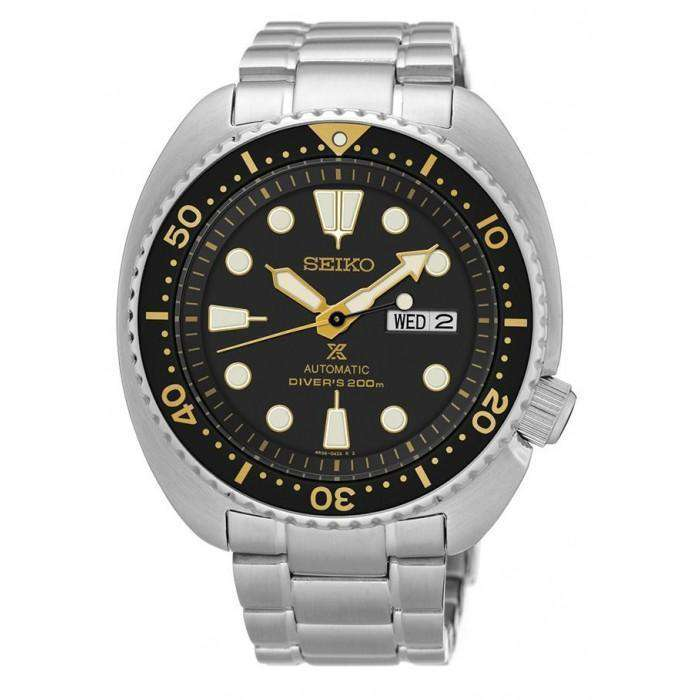SEIKO SRP775K1 Automatic Turtle Silver Stainless Steel Watch for Men - Watchportal Philippines