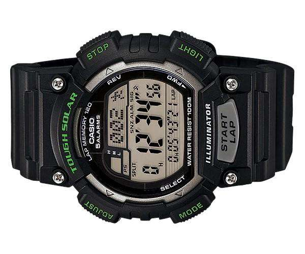 Casio STL-S100H-1A Black Resin Strap Watch for Men