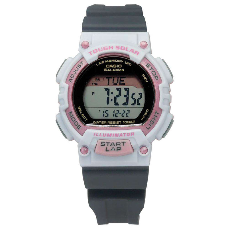 Casio STL-S300H-4A Grey Resin Strap Watch for Women
