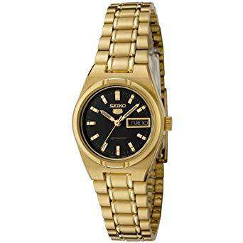 SEIKO SYM602K Automatic Gold Plated Stainless Steel Watch for Women