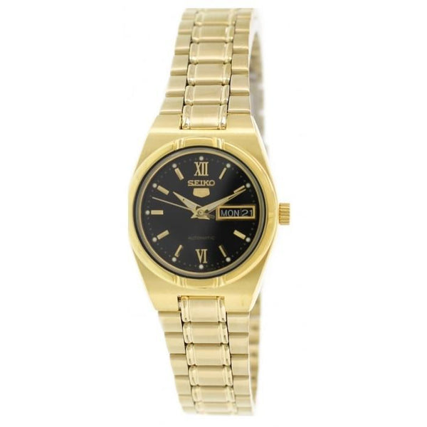SEIKO SYM614K Automatic Gold Stainless Steel Watch for Women