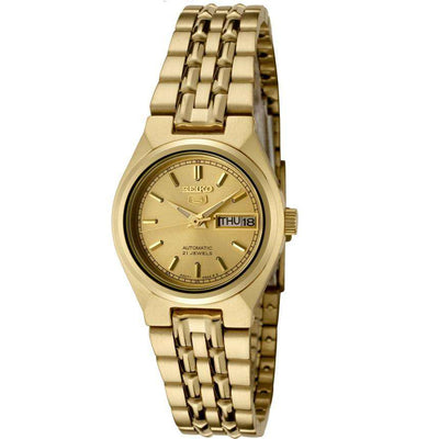 SEIKO SYMA04K1 Automatic Gold Stainless Steel Watch for Women