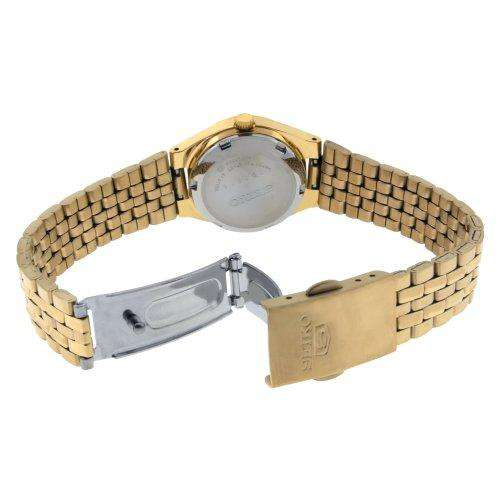 SEIKO SYMA22K1 Automatic Gold Stainles Steel Watch for Women