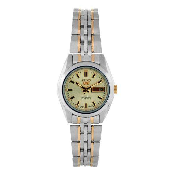 SEIKO SYMA37K1 Automatic Two Tone Stainless Steel Watch for Women