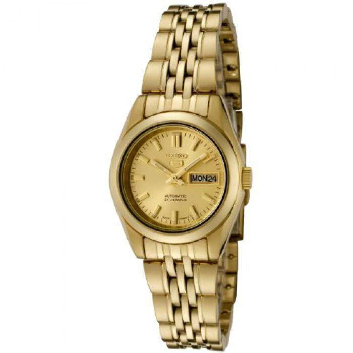 SEIKO SYMA38K1 Automatic Gold Plated Stainless Steel Watch for Women - Watchportal Philippines