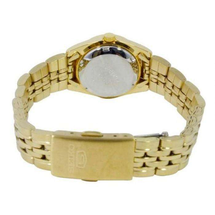 SEIKO SYMA40K1 Automatic Gold Stainless Steel Watch for Women
