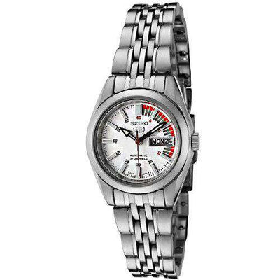 SEIKO SYMA41K1 Automatic Silver Stainless Steel Watch for Women