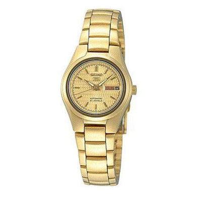 SEIKO SYMC18K1 Automatic Gold Stainless Steel Watch for Women