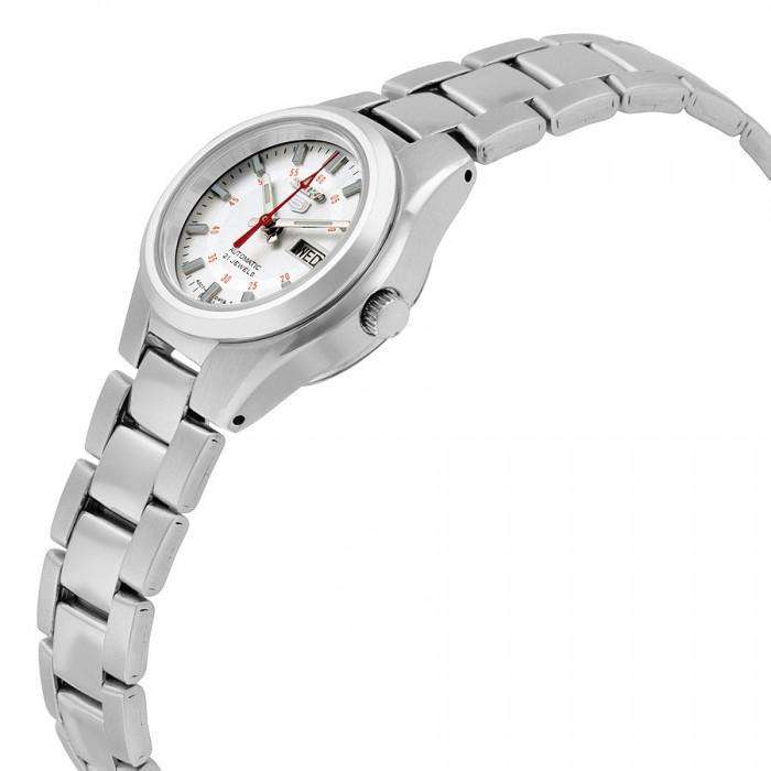SEIKO SYMC21K1 Automatic Silver Stainless Steel Watch for Women