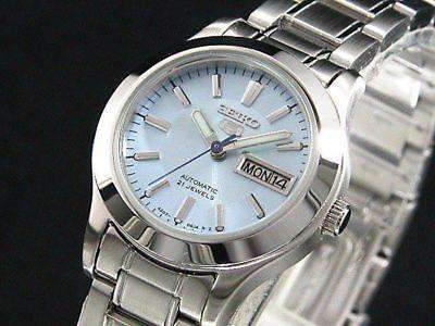SEIKO SYMD89K Automatic Silver Stainless Steel( Blue Dial) Watch for Women