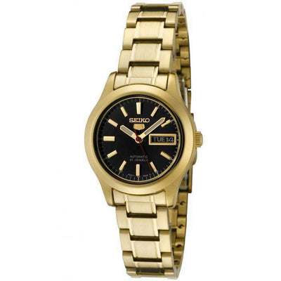 SEIKO SYMD96K1 Automatic Gold Stainles Steel Watch for Women