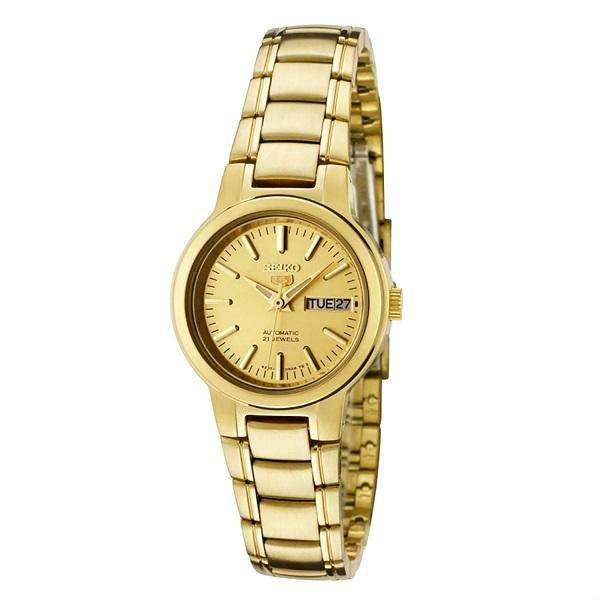 SEIKO SYME46K1 Automatic Gold Stainless Steel Watch for Women