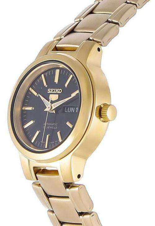 SEIKO SYME48K1 Automatic Gold Stainless Steel Watch for Women