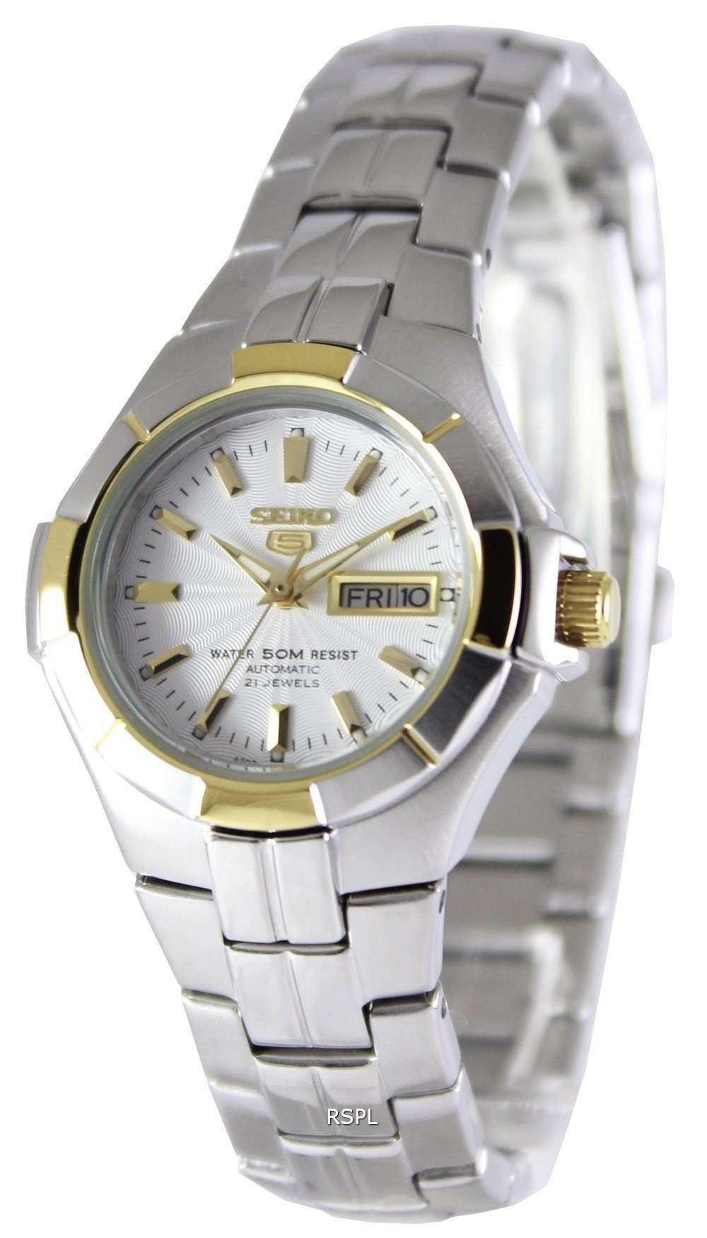 SEIKO SYMG86K1 Automatic Two-tone Stainless Steel Watch for Women