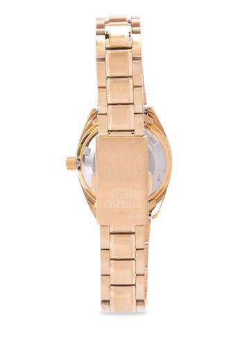 SEIKO SYMH12K1 Automatic Gold Stainless Steel Watch for Women