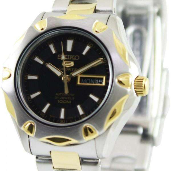 SEIKO SYMJ48K1 Automatic Two-tone Stainless Steel Watch for Women