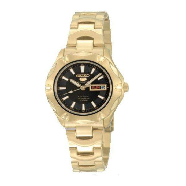 SEIKO SYMJ52K1 Automatic Gold Stainless Steel Strap for Women
