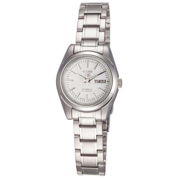 SEIKO SYMK13K1 Automatic Silver Stainless Steel Strap Watch for Women
