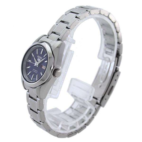 SEIKO SYMK15K1 Automatic Blue Dial Silver Stainless Watch for Women
