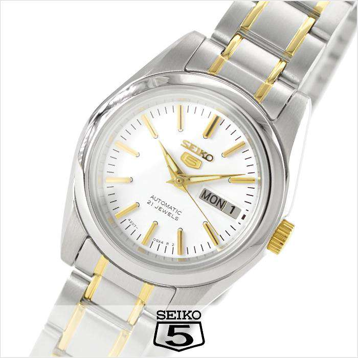 SEIKO SYMK19K1 Automatic Two-Tone Stainless Steel Watch for Women