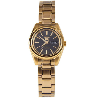 SEIKO SYMK22K1 Automatic Gold Stainless Steel Watch for Women