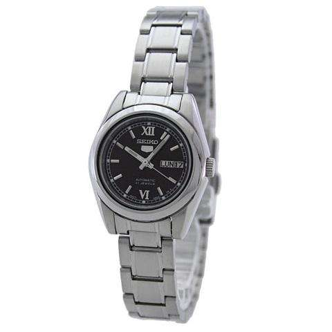 SEIKO SYMK25K1 Automatic Brown Dial Silver Stainless Steel Watch For Women