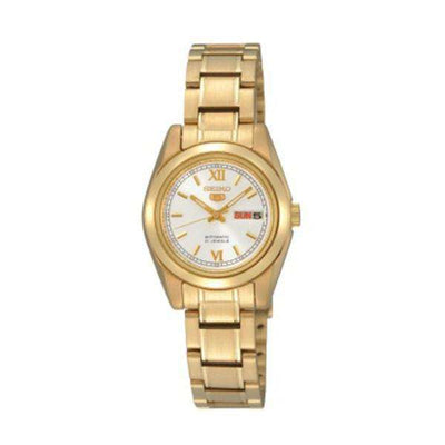SEIKO SYMK30K1 Automatic Gold Stainless Steel Watch for Women