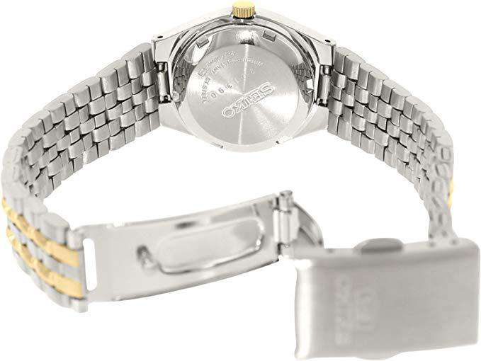 SEIKO SYMK34K1 Automatic Two Tone Stainless Steel Watch for Women